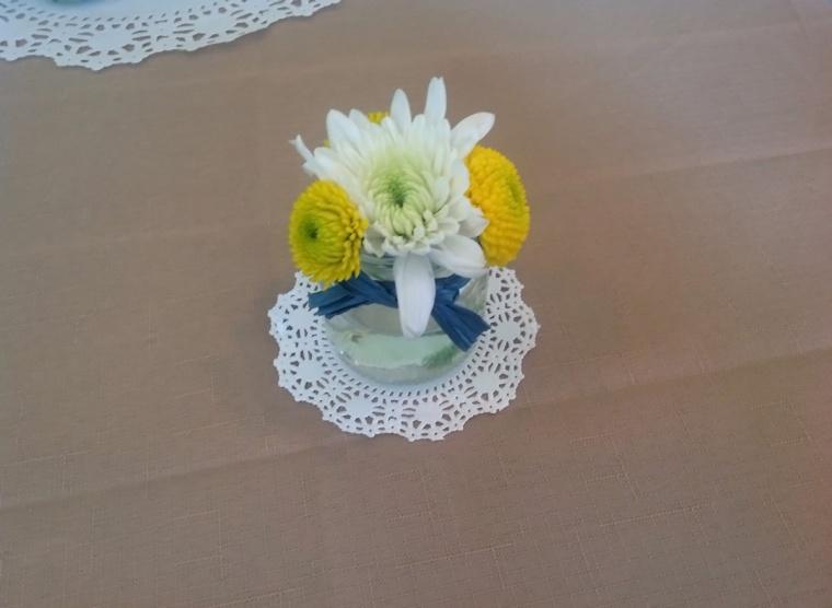 baby food jar vase