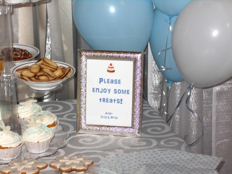 kids birthday dessert bar sign