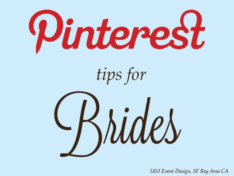 pinterest tips by san francisco bay area wedding planner