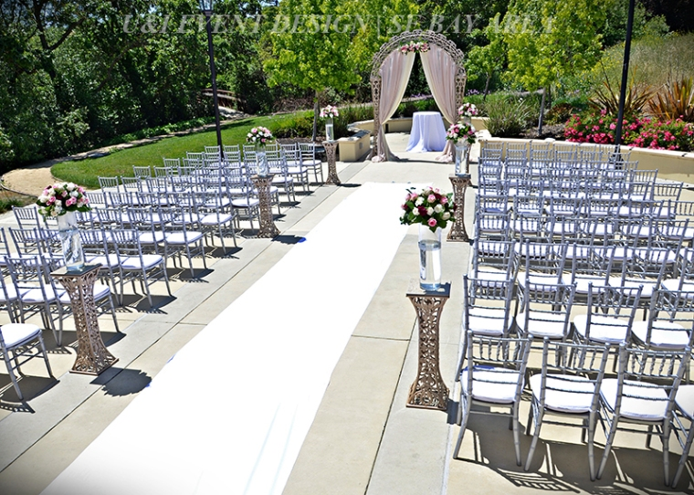 shannon community center outdoor wedding ceremony