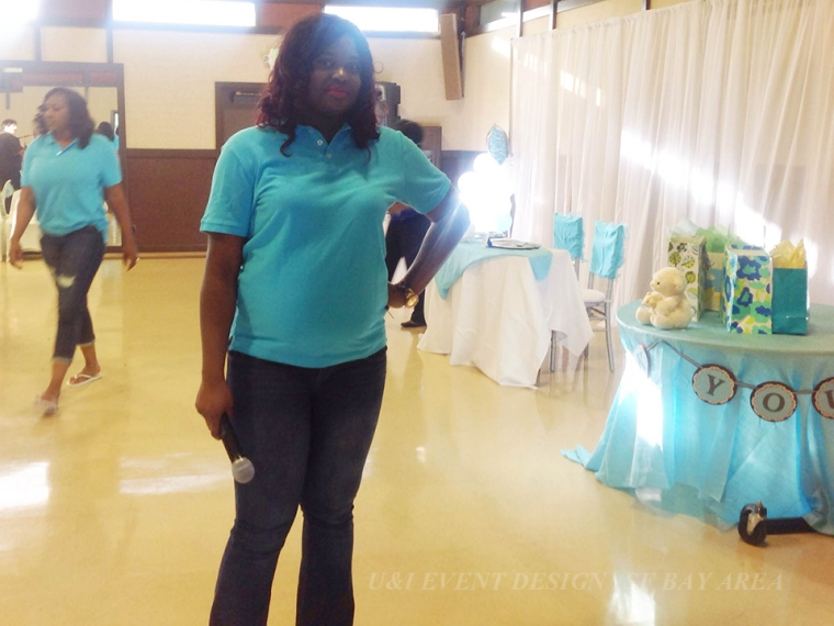 baby shower party hostess