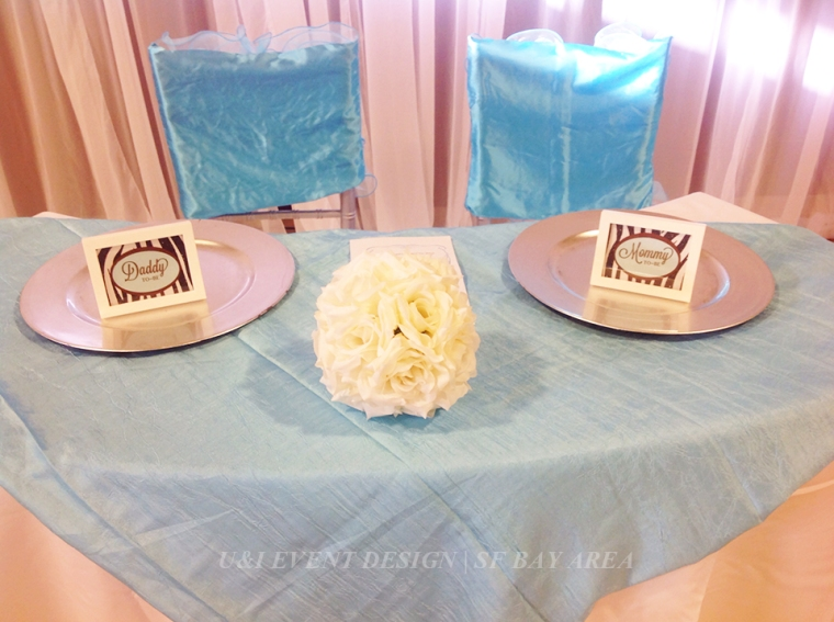 baby shower picture frame sign