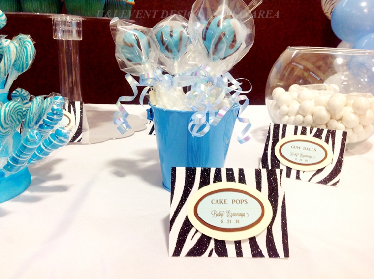 dessert bar food sign cake pops