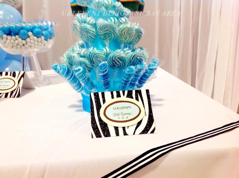 dessert table food sign lollipops