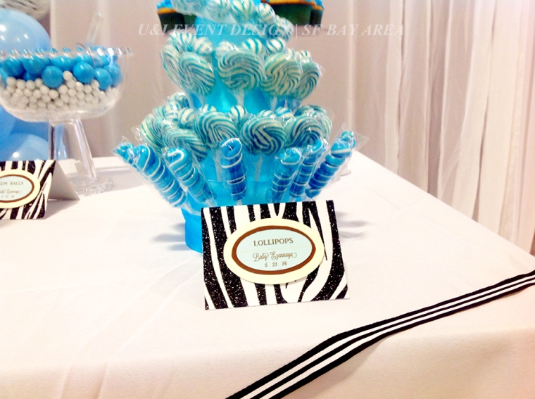dessert table food sign lollipops
