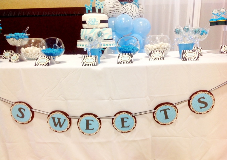 dessert table sign banner