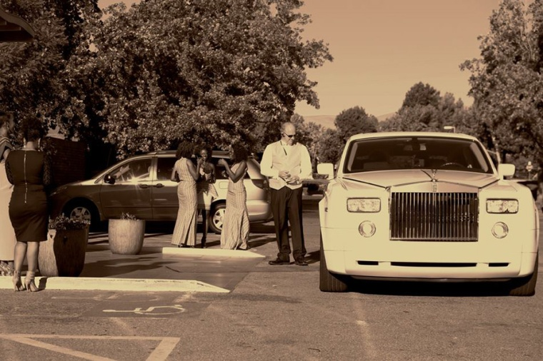 rolls royce bay area wedding transportation at india community center