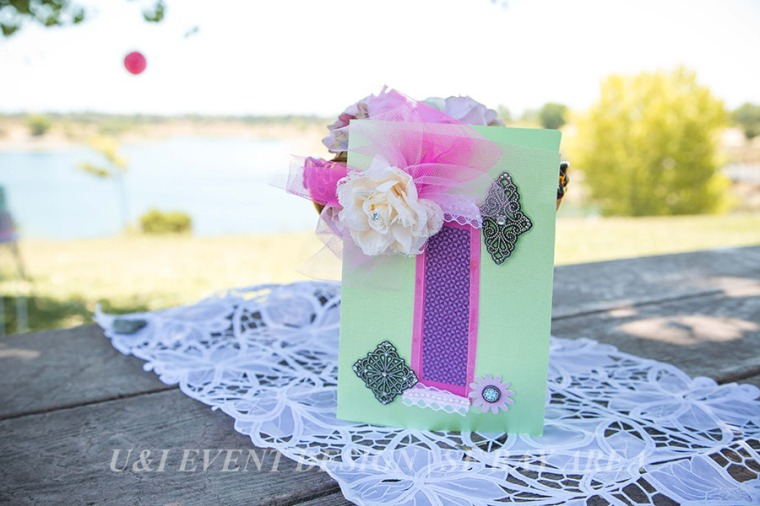 handmade birthday party card_white vintage lace runner_bay area event planner