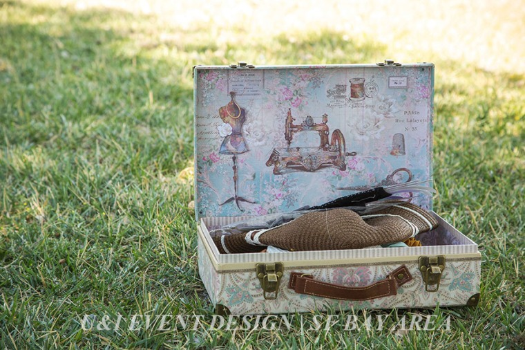 kids birthday party games ideas_vintage suitcase_bay area event planner