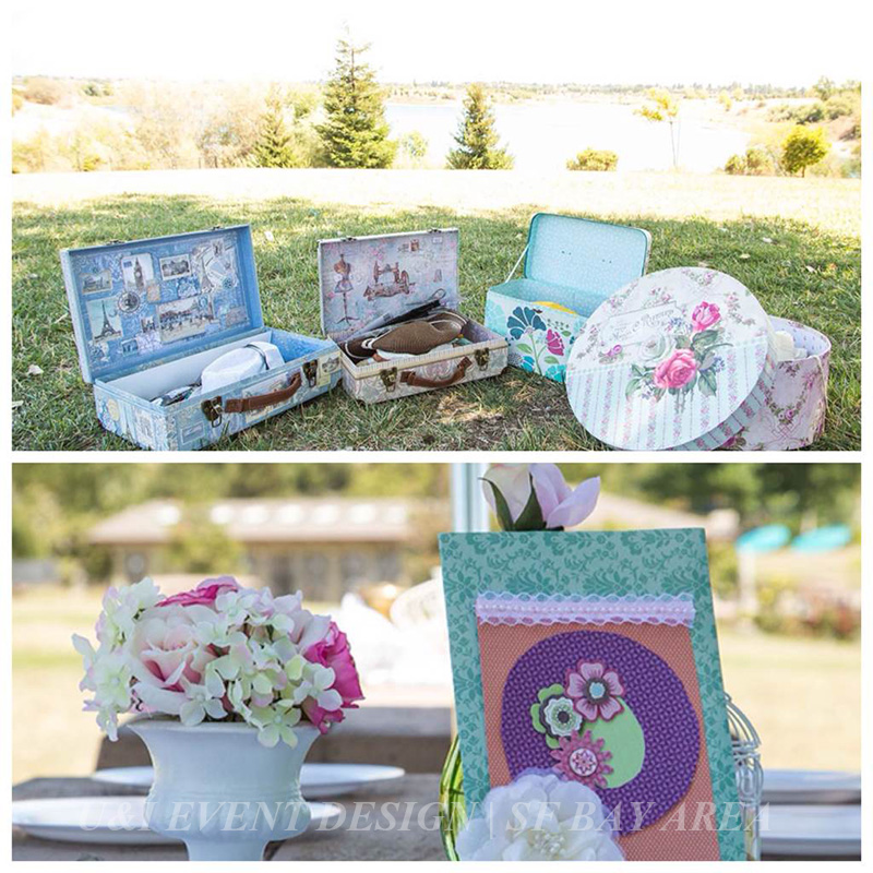 Outdoor Shabby Chic Kids' Birthday At Quarry Lakes