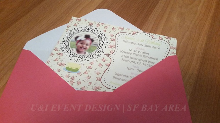 shabby chic birthday invitation_bay area kids party