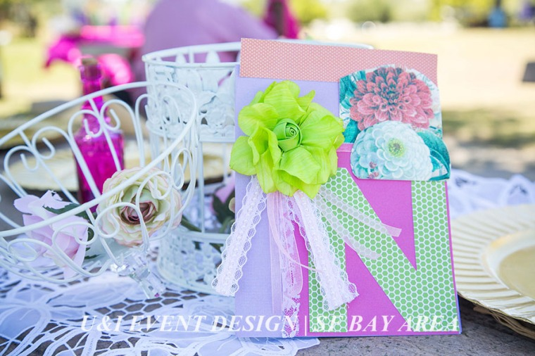 vintage rustic shabby chic birthday stationery centerpiece_east bay event planner