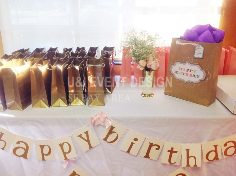 birthday party gift table banner