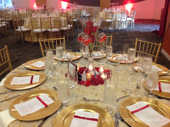 india community center_wedding centerpiece _bay area event planner
