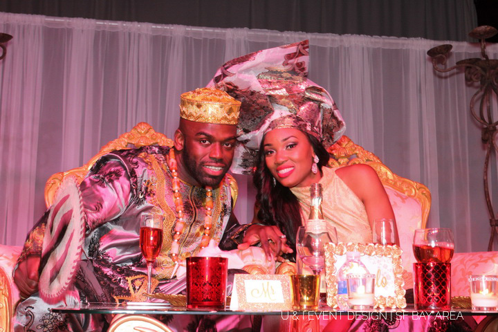 nigerian multicultural california wedding